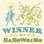 Winner, NaNoWriMo, 2014