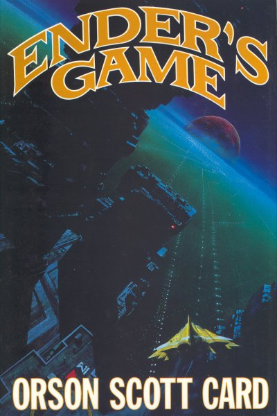 'Ender's Game' original book cover for EG-US Image source: Ansible Wikia