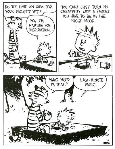 Everyone has their own method.