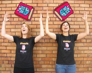 The 2013 winner's shirt for winning ladies like me