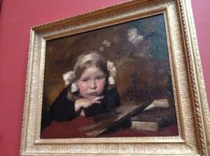 'Portrait of Ida' by Max Meldrum