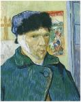 'Self-Portrait with bandaged ear' Image Source: Van Gogh Gallery