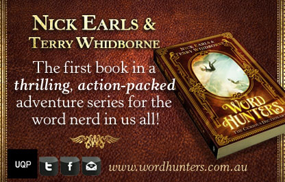 Word Hunters series by Nick Earls and Terry Whidborne