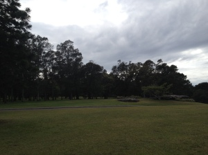 Centennial Park, Sydney, before the rains hit (Image Source: My camera)