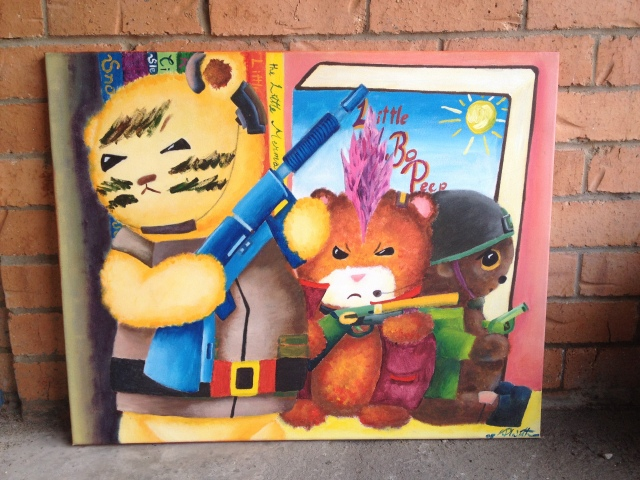 'Teddy Bear Gang' by T. Withers.