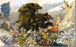 'Elisha and the Bears' Image source: Beechwood Cross