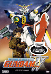 Mobile Suit Gundam Wing Image source: Cartoon Network