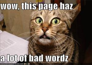 What a bad critter sounds like Image source: Avid Mystery Reader blog