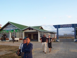 XiengKhouang Airport, Phonsavan, Laos Image source: My camera, Withers family trip, 2007