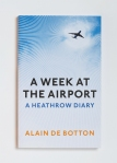 'A week at the airport' book cover. Image source: Profile Books