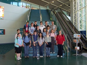 Cairns Domestic Airport, leaving for 2005 Japan trip with Mansfield State High School group Image source: My camera
