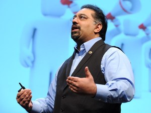 Omar Ahmad, TED talk 2010 Image source: TED at fhttp://www.ted.com/talks/omar_ahmad_political_change_with_pen_and_paper?language=en