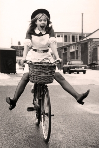 Image source: 'English girl riding bike' from Riding Pretty blog
