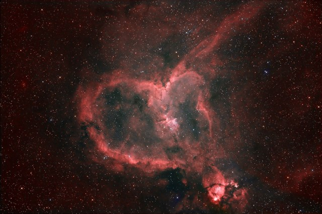 The Valentine's Nebula, a gift from God to let you know you are loved by someone much bigger than you are!  Image source: NASA's Hubble Space Telescope