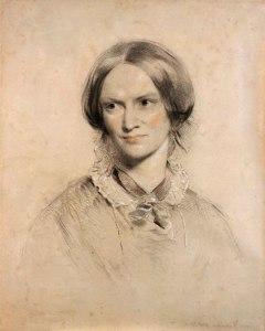 Charlotte Bronte. Portrait by George Richmond