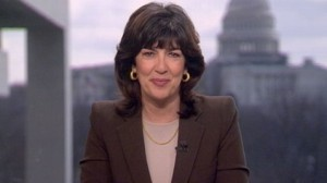 Christiane Amanpour. Beautiful and professional in the newsroom. Image source: ABC News