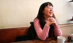 Debbie Ohi. A role model for those looking for an ultra-comfy fashion option. Image source: BlogTO