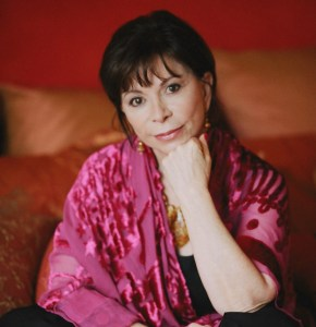 Isabel Allende. She loves her scarves, too. Always the brightest of colours! Lovely. Image source: Potter Write