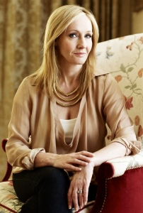 JK Rowling. The picture of modern glamour. Thankfully, you don't need to be a millionaire to achieve the same look. Image source: Harry Potter Wikia