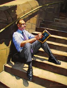 'Away From His Desk' by Karin Jurick