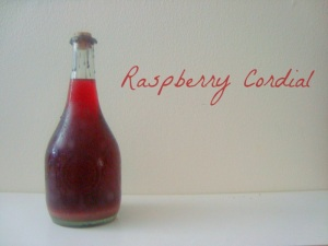 Anne of Green Gables - raspberry cordial from Food Fiction Blog