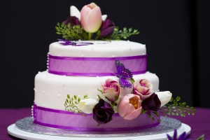 Our amazing wedding cake was created by Allana Rowan and decorated by Kathryn Ryan, both very talented creators.
