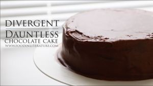 Dauntless. Chocolate cake. Image source: Food in Literature