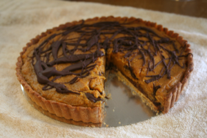 Harry Potter - Pumpkin Tart - from The Nerdy Bird