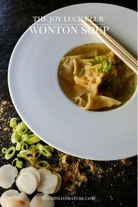 Joy Luck Club. Wonton Soup. Image source: Food in Literature