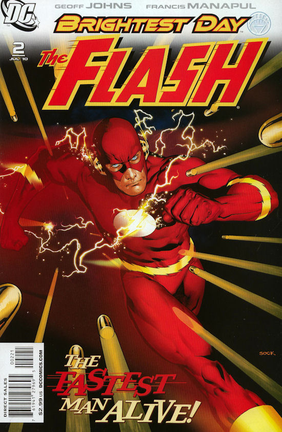 The Flash Comic #2: The Fastest Man Alive. This is the new cover variant. Image source: Comic Mega Store