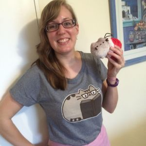 Christmas gifts from my loving husband after he found out I had discovered Pusheen. Image source: My camera.